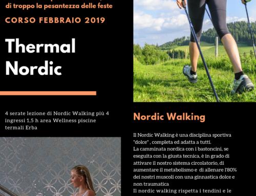 #ThermalNordic – Corsi Base Nordic Walking e ingresso Area WellNess Erba – Febbraio 2019