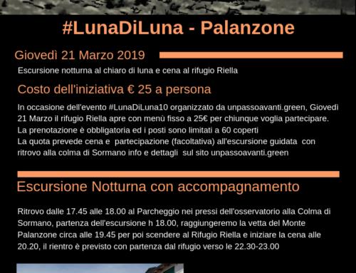 #LunaDiLuna – Palanzone – 21 Marzo 2019
