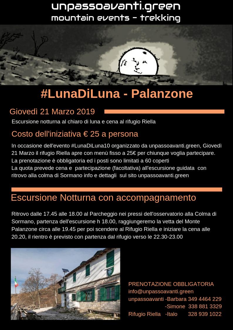 #Lunadiluna10 Palanzone