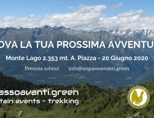 Monte Lago, Alpe Piazza – 20 Giugno 2020