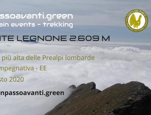 MONTE LEGNONE 2.609 m – 30 Agosto 2020