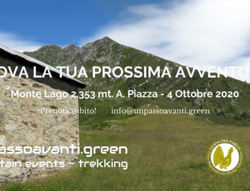 Monte Lago, Alpe Piazza – 4 Ottobre 2020