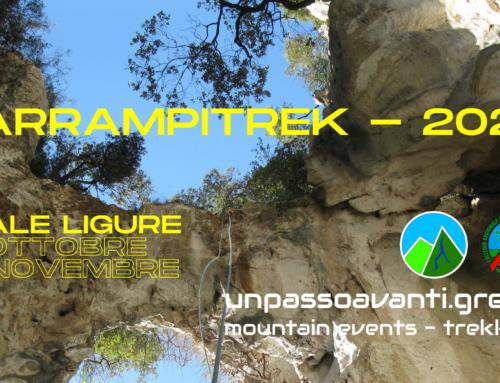 #ArrampiTrek – Finale Ligure 31 Ottobre 1 Novembre 2020